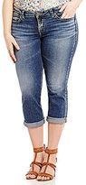 Silver Jeans Co. Plus Aiko Capri