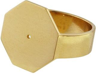 Lito Fine Jewelry Hexagon Ring - Yellow Gold