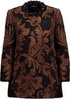 Simone Rocha Embellished chenille jacket