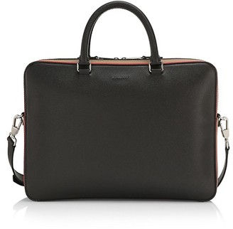 Burberry Ainsworth Leather Briefcase