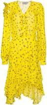 Preen by Thornton Bregazzi Margo floral print asymmetric dress