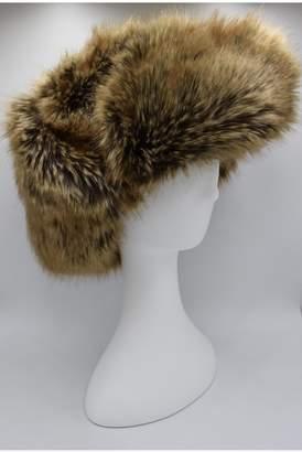Maison Atia Trapper Hat - Faux Fur Brown