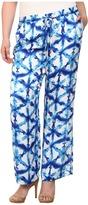 MICHAEL Michael Kors Size Tie-Dye Wideleg Pants