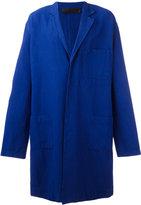 Haider Ackermann soft trench coat - men - Cotton/Linen/Flax/Elastodiene/Rayon - 46