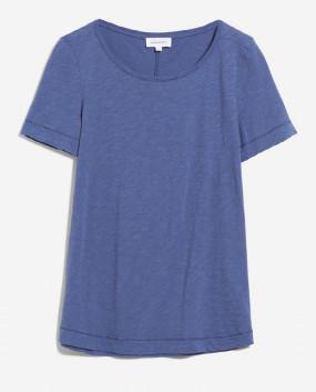 Armedangels Indigo Blue Organic Cotton T Shirt Johannaa - XS / Indigo