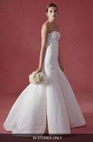 Oscar de la Renta Women's 'Farah' Embellished Bodice Faille Tulip Gown