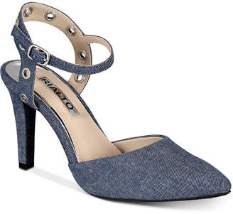 Rialto Muse Closed-Toe Ankle-Strap Dress Shoes Women Shoes