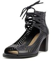 Bella Vita Keaton Ww Open Toe Leather Platform Heel.