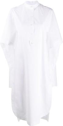 Lanvin Cape Detail Shirt Dress