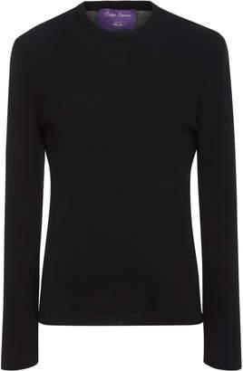 Ralph Lauren Rib-Knit Wool-Jersey Sweater