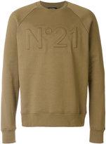 No.21 logo sweatshirt - men - Cotton - XS