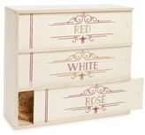True Fabrications Red, White & Rose Wine Box - Brown