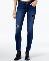 Hudson Collin Ripped Authentic Wash Skinny Jeans
