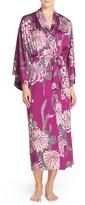 Natori Women's Aizome Satin Robe