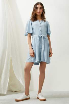 French Connenction Julienne Lyocell Playsuit