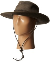 San Diego Hat Company OCM4610 Outdoor Hat w/ Chin Cord and Vented Crown