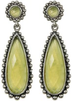 Lagos Sterling Silver Maya Serpentine Large Teardrop Earrings