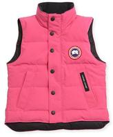 Canada Goose Youth Vanier Arctic-Tech Vest, Summit Pink, XS-XL