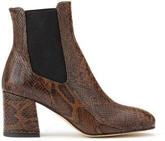 Cosmo Paris Lacado Leather Heeled Boots