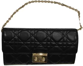 Christian Dior Miss Black Leather Clutch bags