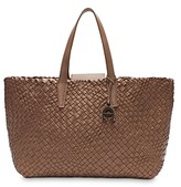 Thumbnail for your product : Etienne Aigner Eitenne Aigner Irene Woven Leather Tote