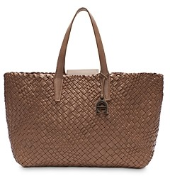 Etienne Aigner Eitenne Aigner Irene Woven Leather Tote