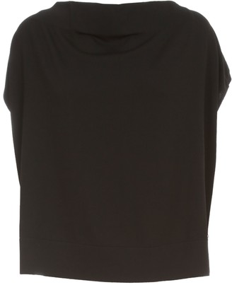 Liviana Conti Off The Shoulder Sweater Boat Neck