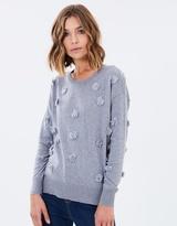 Sass Marian Pom Pom Sweater
