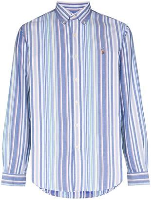 Polo Ralph Lauren stripe-pattern Oxford shirt