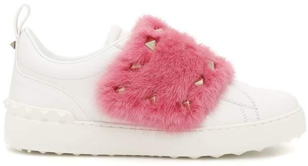 Valentino Mink Sneakers