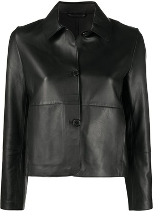 S.W.O.R.D 6.6.44 Single-Breasted Leather Jacket