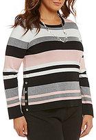 Investments Plus Crew Neck Sweater
