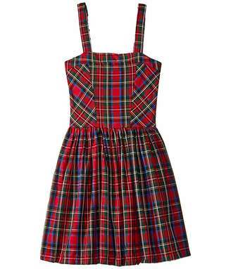 fiveloaves twofish Tartan Party Dress (Big Kids)