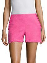 Trina Turk Kleo Fringed Shorts