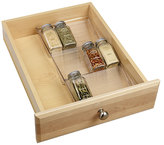Container Store LinusTM In-Drawer Spice Rack Clear