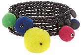 Anna & Ava Pom Pom Coil Bracelet