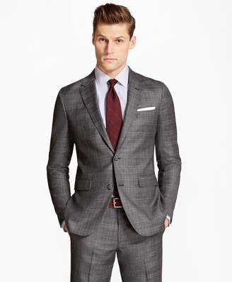 Brooks Brothers Milano Fit Multi-Plaid 1818 Suit