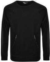 Versace Pocket Sweatshirt Black