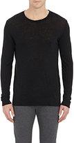 IRO Men's Slub Long-Sleeve T-Shirt-Black Size Xs