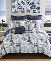 Idea Nuova Blue Maritime Seven-Piece Comforter Set