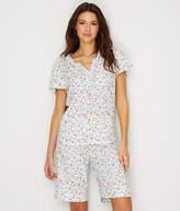 Karen Neuburger Floral Knit Bermuda Pajama Set - Women's