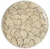 THREE SEVEN Coral Sea Shell large plate