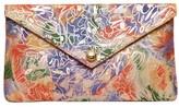 Linell Ellis Novelty Print Florence Envelope Clutch