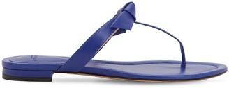 Alexandre Birman 10mm Clarita Leather Sandals