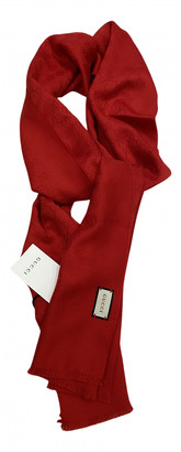 Gucci Red Cashmere Scarves