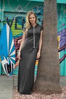 Shabby Apple Laguna Maxi Dress Grey