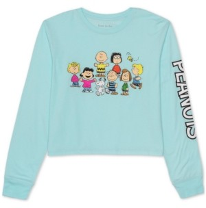 Peanuts Juniors' Long-Sleeved Graphic T-Shirt