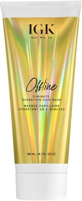 IGK Offline 3-Minute Hydration Hair Mask (198ml)