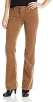Big Star Women's Remy Mid Rise Boot Bootcut In A Beautiful Light Corduroy Fabric In Autumn Wheat Color