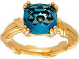 Peter Thomas Roth 18K Gold & London Blue Topaz Gemstone Ring